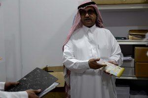 زيارة أ. نبيل الدوسري مساعد مدير العمل للتنمية الاجتماعية 22 جمادة الآخرة 1438 هـ