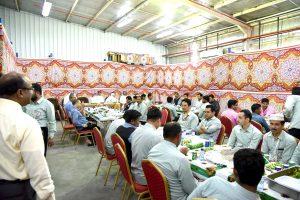 الجمعية التعاونية تقيم حفل سحور لموظفيها وعمالها