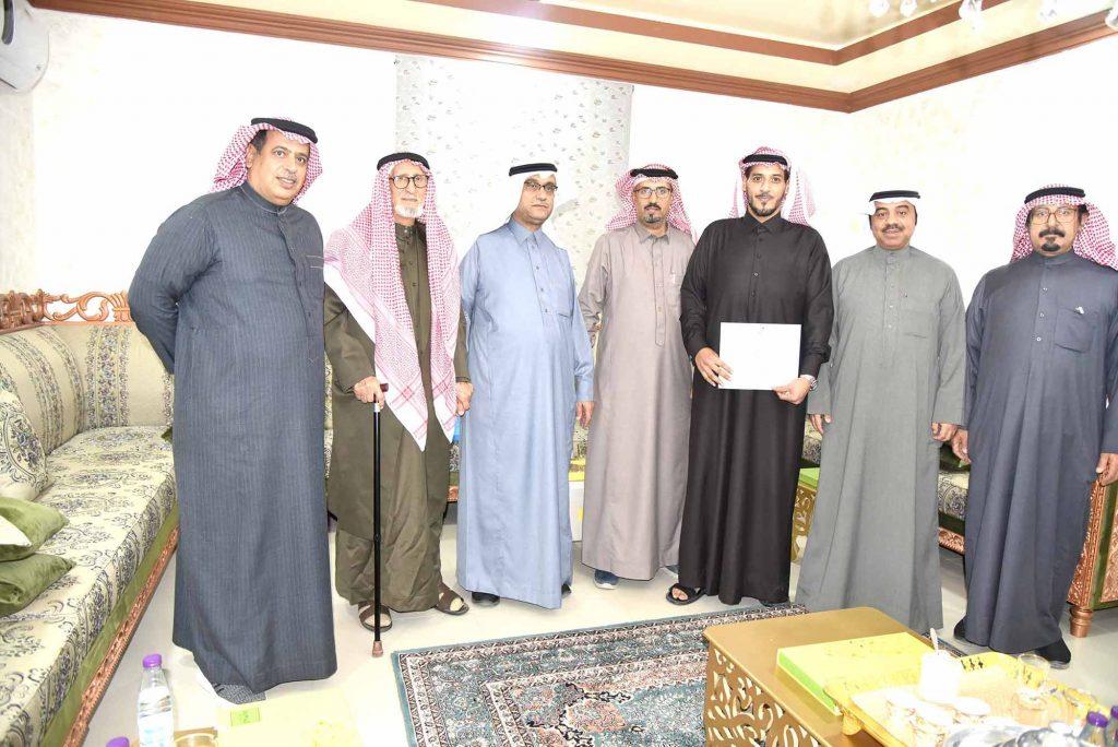 استهلاكية الخفجي تمنح عضويتها لأحمد الكهيف